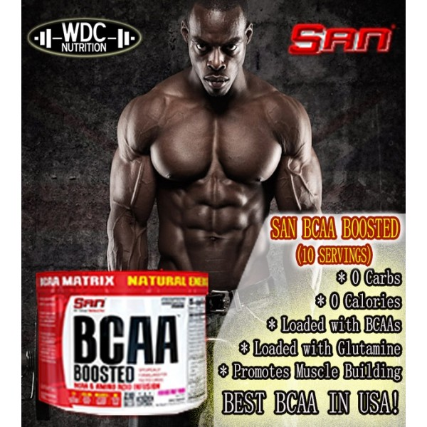 BCAA BOOSTED(10 SERVING)