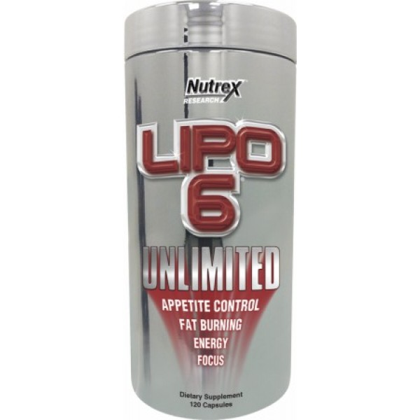 Lipo 6 UNLIMITED (120 Caps)