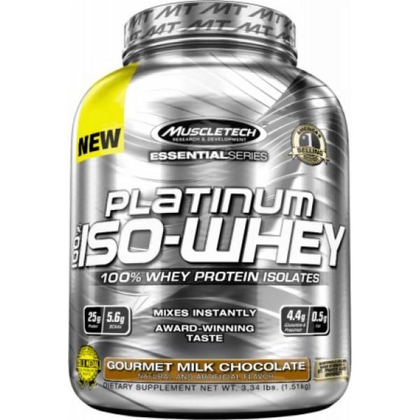 Platinum 100% Iso Whey (3.34Lbs)