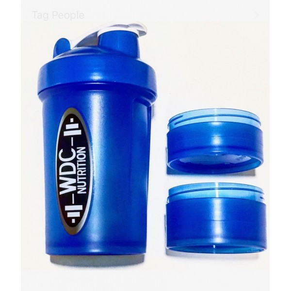 WDC Compartment Shaker (Blue)