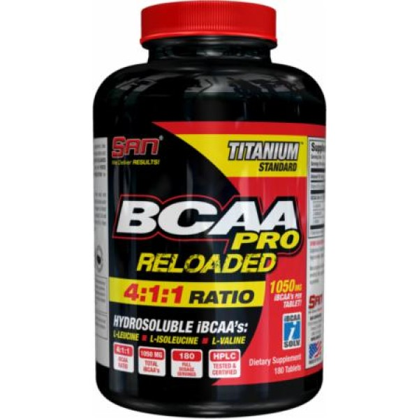 BCAA PRO Reloaded Tablets (180 Tabs)