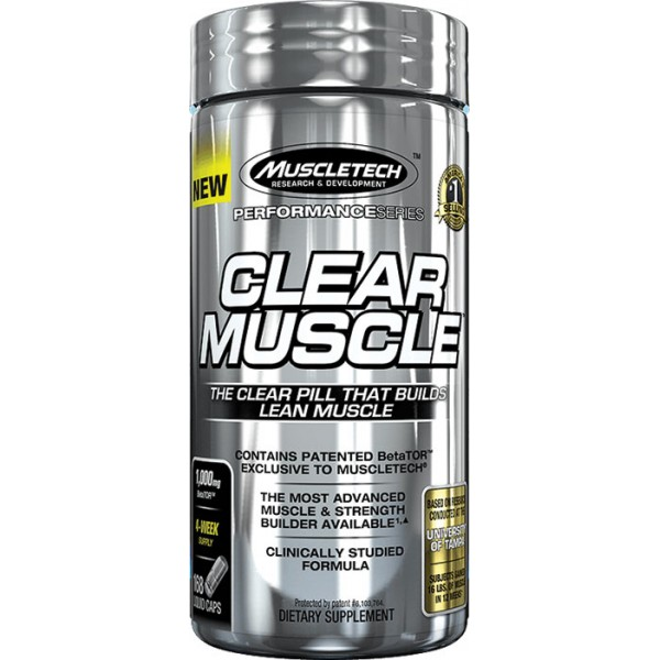 Muscletech Clear Muscle 84 tablets
