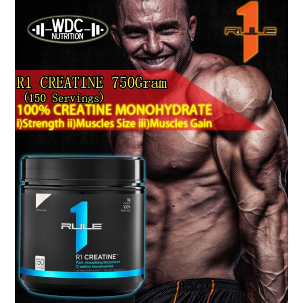 r1 creatine 150 servings (Unflavoured)
