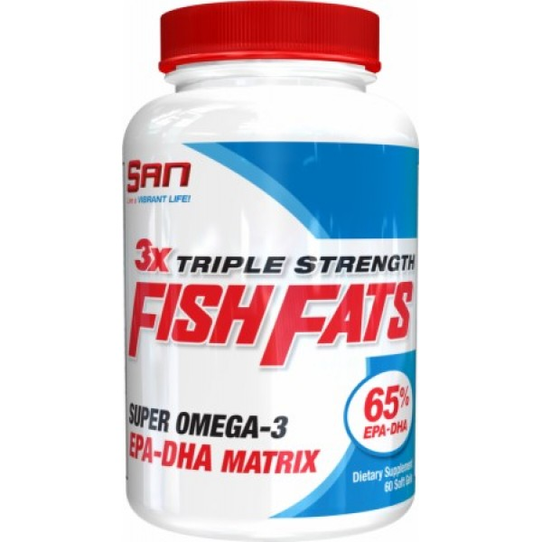 Triple Strength Fish Fats (60 Soft Gels)
