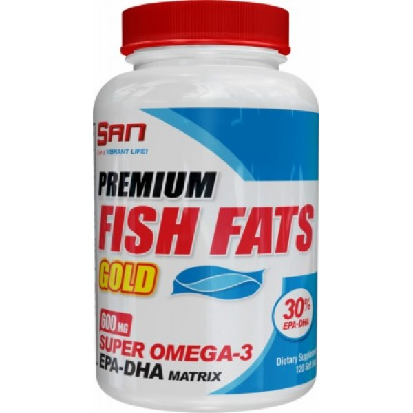 Premium Fish Fats Gold (120 Softgels)EXPIRED*APRIL 2018*