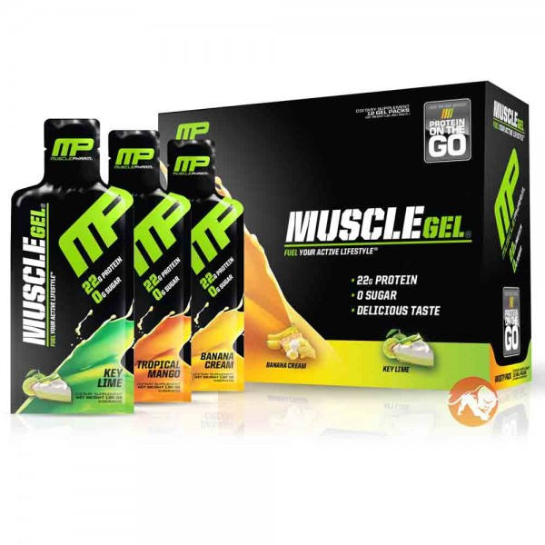 MusclePharm MuscleGel Shot(1 Packet)
