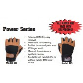 Lifting Gloves Power Series With Wrist Wraps model425