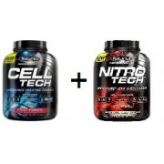 Muscletech Ultimate Stack - Nitrotech Performance Series (4LBS) + Celltech Performance Series (6LBS)
