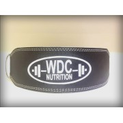WDC LEATHER WEIGHT LIFTING BELT